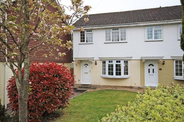 Thumbnail End terrace house for sale in Nicholas Close, Walkford, Christchurch