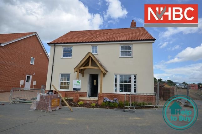 Thumbnail Property for sale in Plot 13 The Holkham, Springfield Grange, Acle