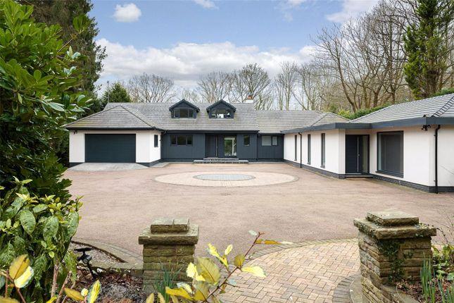 Thumbnail Detached house for sale in Saddleback Drive, Castle Hill, Prestbury, Macclesfield