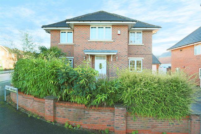 Thumbnail Detached house for sale in Gilbert Boulevard, Arnold, Nottingham