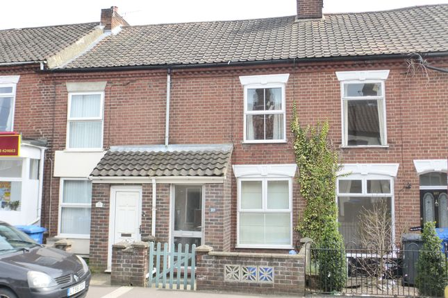 Thumbnail Terraced house for sale in Sprowston Road, Norwich