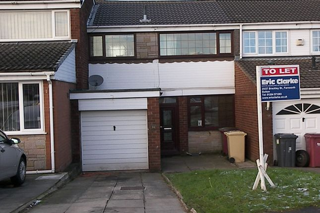 Thumbnail Town house to rent in Greenmount Park, Kearsley