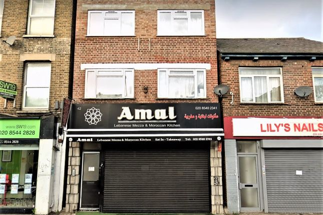 Restaurant/cafe to let in High Street, Colliers Wood, London
