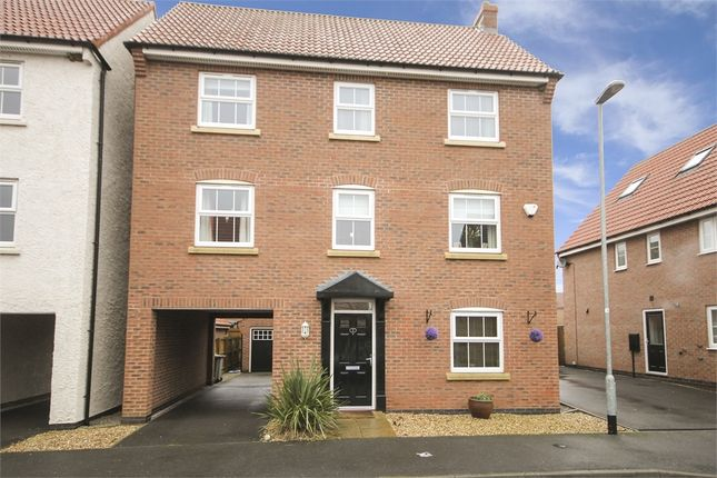 Thumbnail Detached house for sale in Marron Close, Fernwood, Newark, Nottinghamshire.