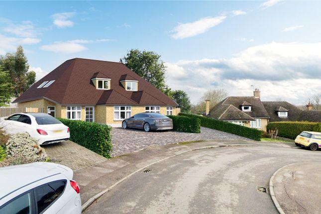 Thumbnail Semi-detached house for sale in Kimble Crescent, Bushey, Hertfordshire