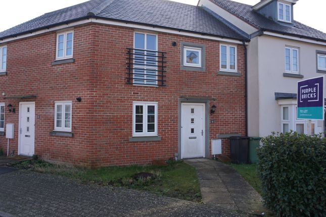 Thumbnail Maisonette to rent in Benham Road, Basingstoke