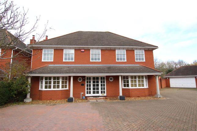Thumbnail Detached house for sale in Hillcrest Close, Loughton, Milton Keynes