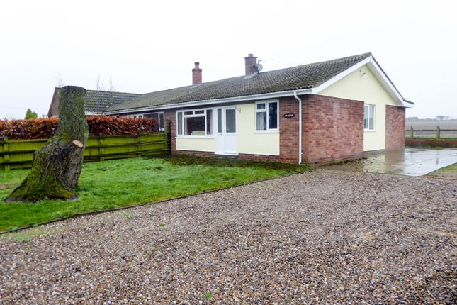 Thumbnail Semi-detached bungalow to rent in High Road, Burgh Castle, Great Yarmouth