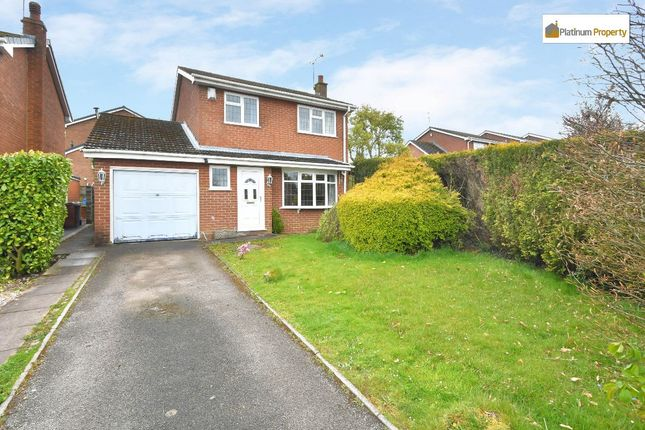 3 bed detached house for sale in Cherry Close, Fulford, Stoke-On-Trent ST11