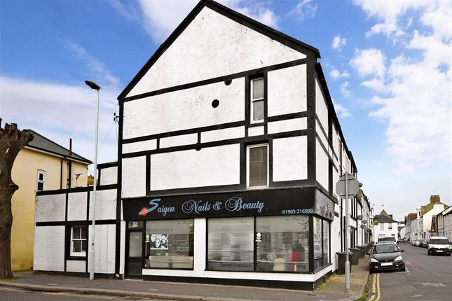 Thumbnail Maisonette for sale in Shelley Road, Worthing, West Sussex