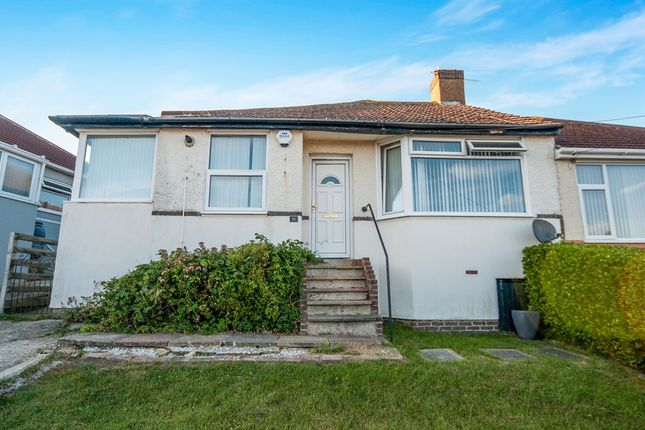 Thumbnail Semi-detached bungalow for sale in Conqueror Road, St. Leonards-On-Sea