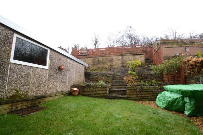 Rear Garden of St. Martins Drive, Blackburn, Lancashire BB2