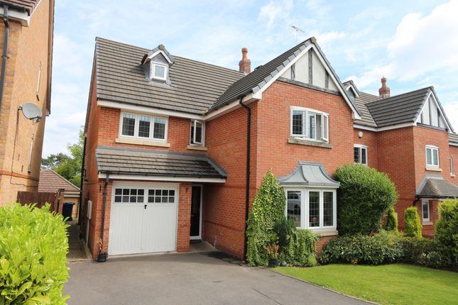 Thumbnail Detached house for sale in Beaumont Rise, Stallington Village
