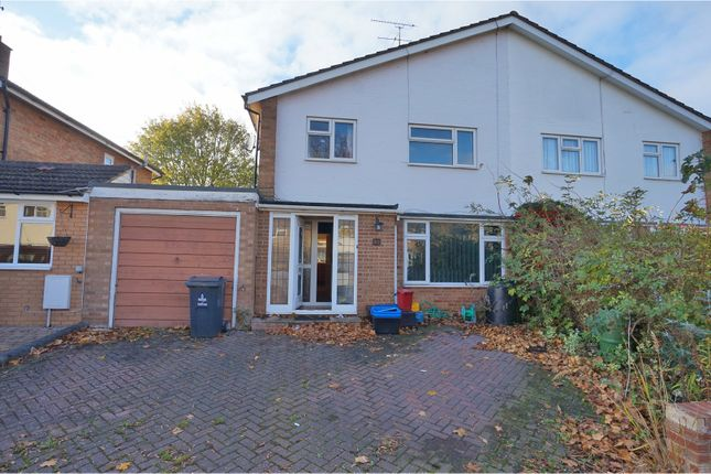 Thumbnail Semi-detached house for sale in Vallansgate, Stevenage