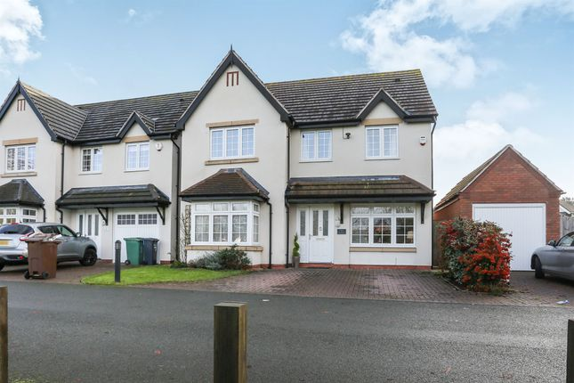 Thumbnail Detached house for sale in The Green, Castle Bromwich, Birmingham