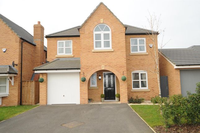 Thumbnail Detached house for sale in Edgewater Place, Edgewater Park, Warrington