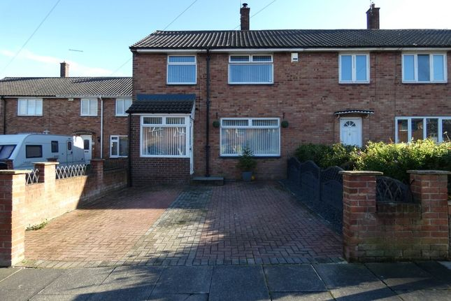 Thumbnail 3 bed semi-detached house for sale in Aln Walk, Newcastle Upon Tyne