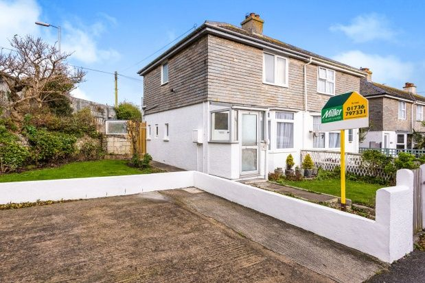 Thumbnail Semi-detached house to rent in Treverbyn Road, St. Ives