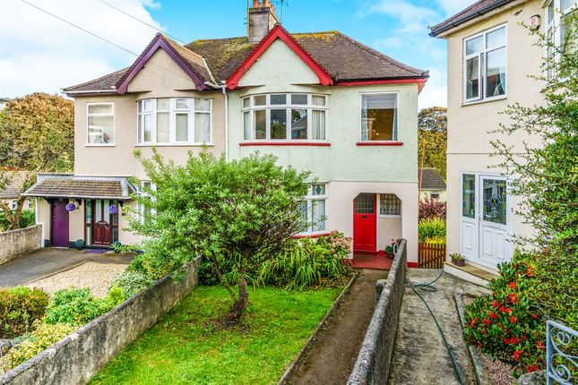 Thumbnail Semi-detached house for sale in Furneaux Avenue, Plymouth