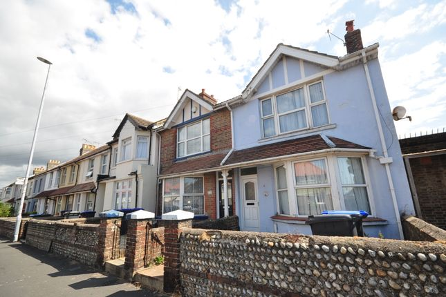 Thumbnail Terraced house to rent in Ham Road, Worthing