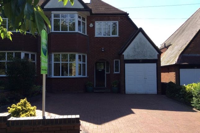 Thumbnail Semi-detached house to rent in Church Hill Road, Solihull