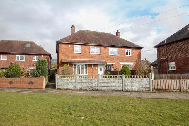 Thumbnail Semi-detached house for sale in Dividy Road, Bentilee, Stoke-On-Trent