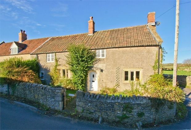 Thumbnail Cottage for sale in Shapway Lane, Stoney Stratton, Somerset