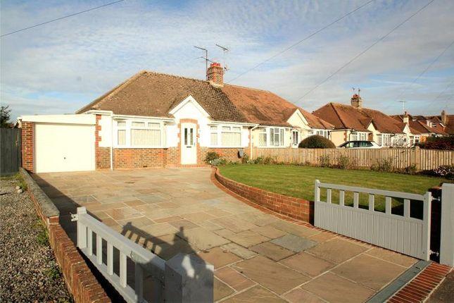 Thumbnail Semi-detached bungalow for sale in Sunningdale Road, Salvington, Worthing