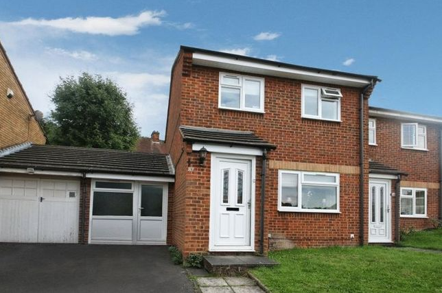 Thumbnail Semi-detached house for sale in Nicholas Gardens, High Wycombe