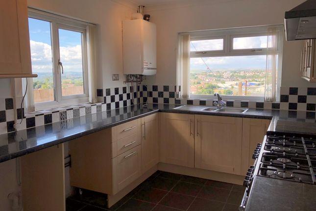 Thumbnail Terraced house to rent in Gwynedd Avenue, Townhill, Swansea