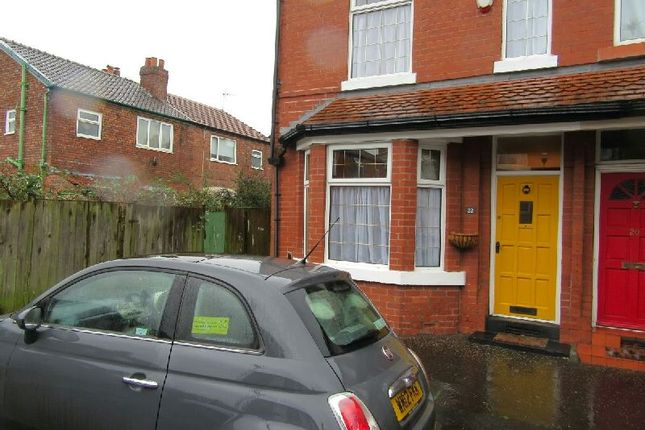 Thumbnail End terrace house for sale in Granville Avenue, Whalley Range, Manchester