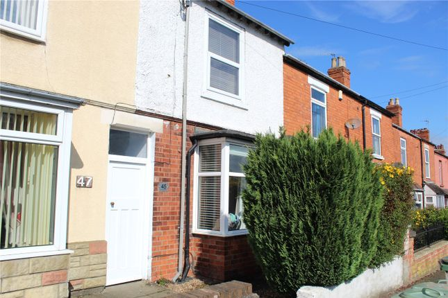 Thumbnail Terraced house to rent in Huntingtower Road, Grantham