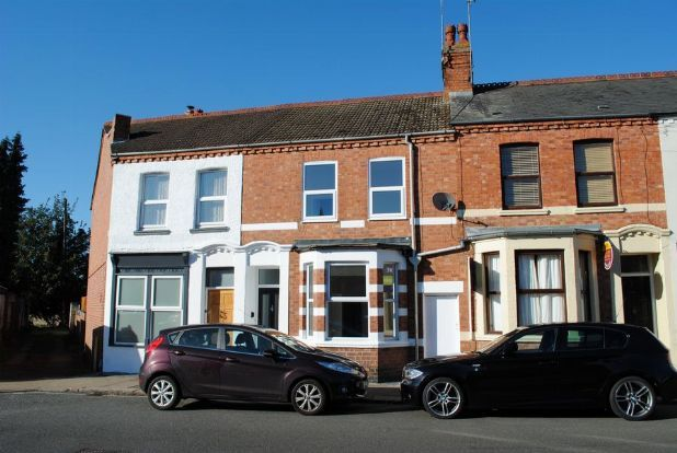 Thumbnail Terraced house for sale in St Davids Road, Kingsthorpe, Northampton