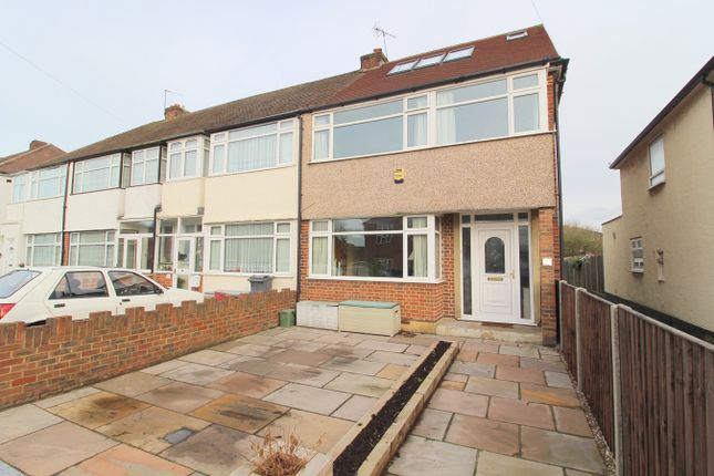 Thumbnail End terrace house for sale in Shelson Avenue, Feltham