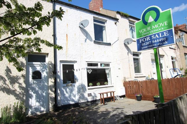 Thumbnail Terraced house for sale in Hollings Terrace, Chopwell, Newcastle Upon Tyne