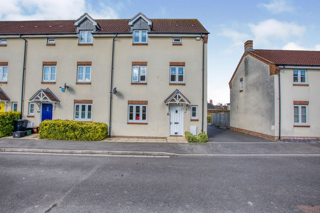 Thumbnail End terrace house for sale in Vincent Way, Martock