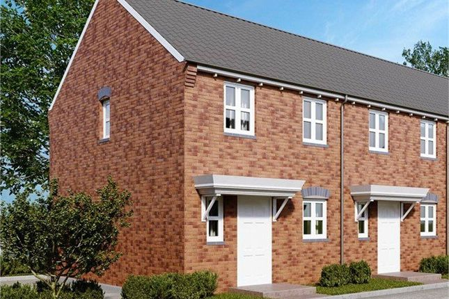 Thumbnail Semi-detached house for sale in Stanier Drive, Hartshorne View, Hartshorne, Swadlincote, Derbyshire
