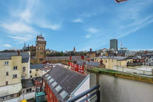 Thumbnail Flat for sale in The Grand Apartments, Westgate Street, Cardiff