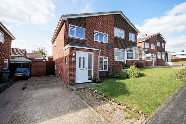 Thumbnail Semi-detached house for sale in Leckford Close, Fareham