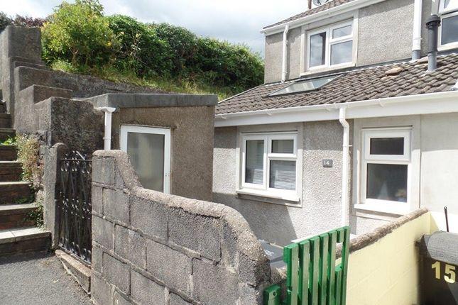 Thumbnail End terrace house for sale in Harriet Town, Troedyrhiw, Merthyr Tydfil