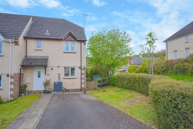 Thumbnail End terrace house for sale in Thornes Meadow, Dunchideock, Exeter