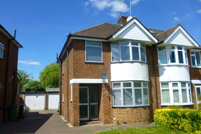 Thumbnail Semi-detached house to rent in Mimms Hall Road, Potters Bar