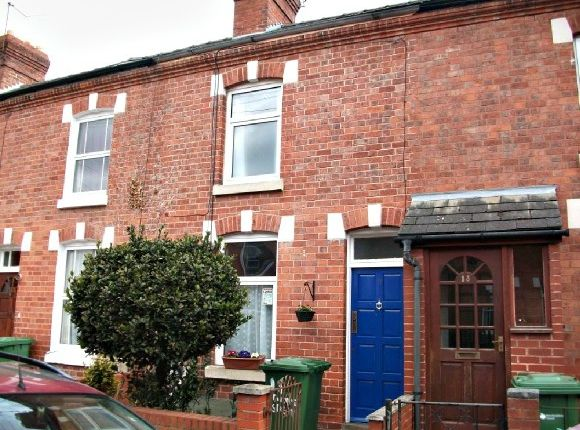 Thumbnail Terraced house to rent in Stanhope Street, Whitecross, Hereford