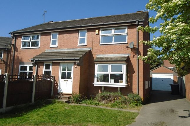 Thumbnail Semi-detached house to rent in Hopefield Gardens, Rothwell, Leeds