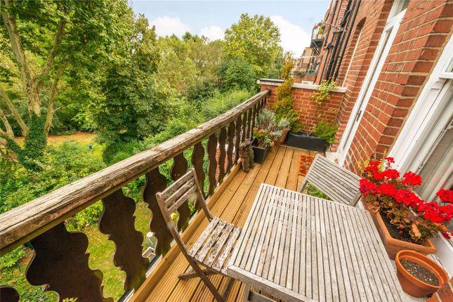 Terrace of Frognal Lane, Hampstead, London NW3