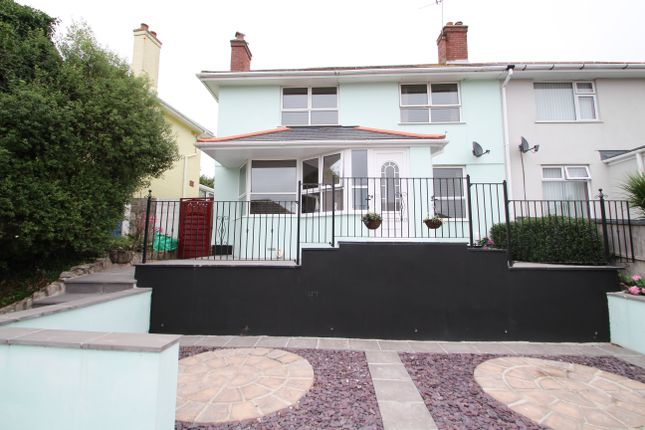 Thumbnail Semi-detached house for sale in Stirling Road, St. Budeaux, Plymouth