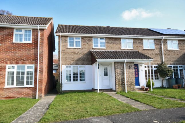 Thumbnail End terrace house to rent in Lymington, Hampshire