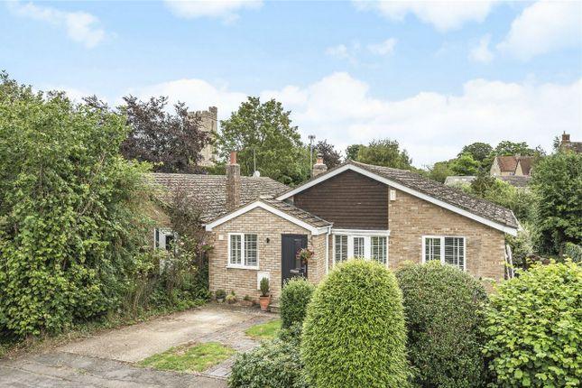 Thumbnail Detached bungalow for sale in Marriotts Close, Felmersham, Bedford