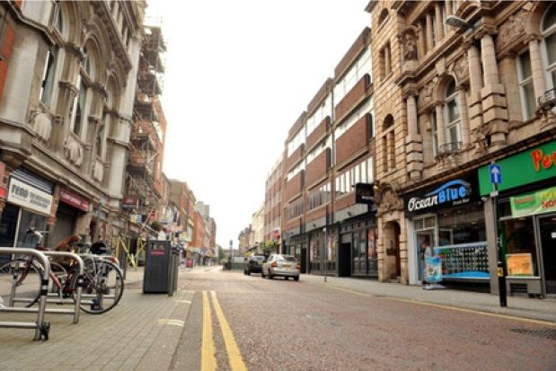 Thumbnail Studio to rent in Belvoir Street, Leicester City Centre