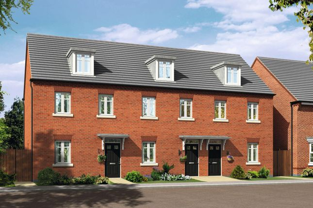 """Thumbnail Terraced house for sale in """"Nugent"""" at Caledonia Road, Off Kiln Farm, Milton Keynes"""